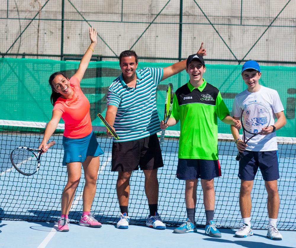 Tenis solidario Tenerife Pabellón